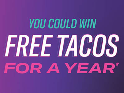 Win Free Tacos for a Year from Taco Bell