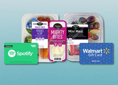 Win a Walmart Gift Card, Spotify Subscription & Taylor Farms Snacks