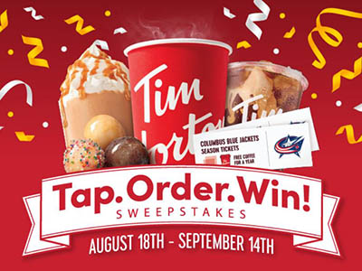 Win Free Tim Hortons Coffee for a Year
