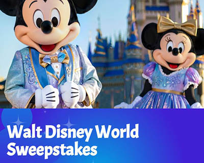 Win a Disney World Trip from Magic Lamp Vacations