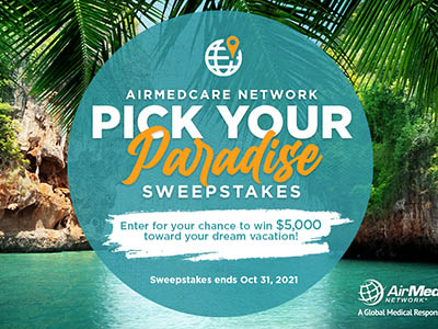 Win $5,000 for a Dream Vacation from AirMedCare
