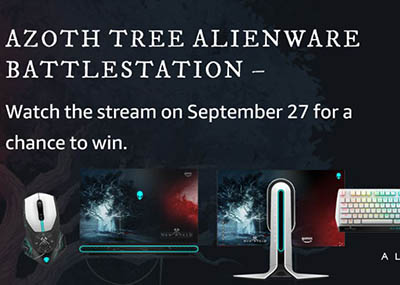 Win an Alienware Gaming Laptop from Amazon