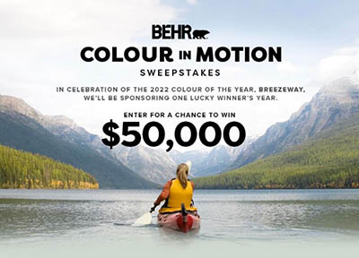 Win $50,000 from BEHR Paint