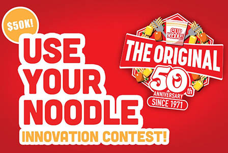 Win $50,000 from Cup Noodles