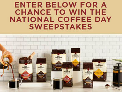 Win Don Francisco's Coffee for a Year