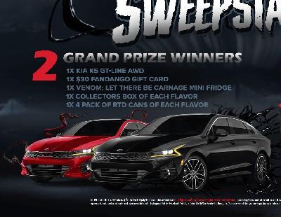 Win a KIA K5 Gt-Line AWD