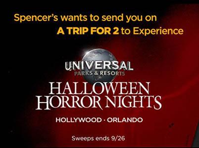 Win a Trip to Halloween Horror Nights