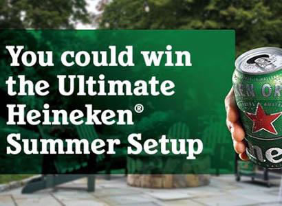 Win a Summer Party Setup from Heineken