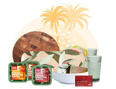 Win a VISA Gift Card + Entertaining Prize Pack