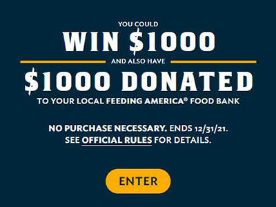 Win $1,000 Cash from Quaker
