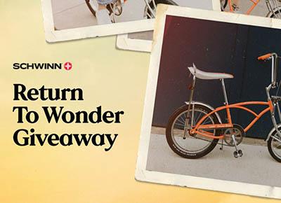 Win a Schwinn Orange Krate Bicycle