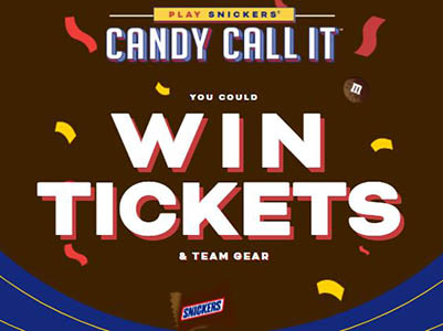 Win NFL Tickets from Snickers
