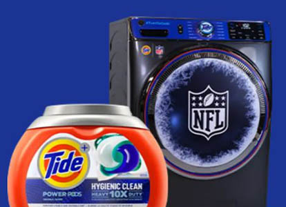Win a Cold Washer from Tide