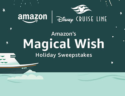 Win a Disney Cruise Line Vacation from Amazon