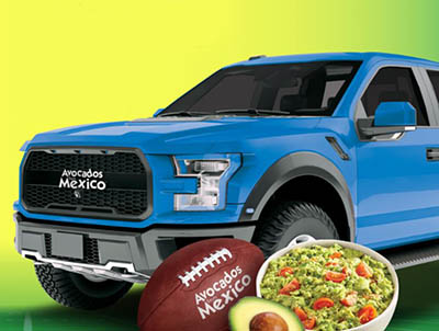 Win $50,000 for a Truck from Avocados From Mexico