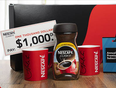 Win Part of $25,000 in Prizes from NESCAFE