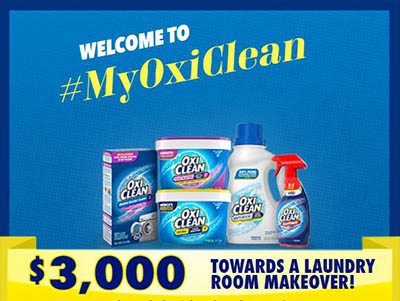Win $3,000 from OxiClean