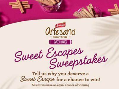 Win $5,000 from Sara Lee